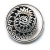 3 рубля — Лунный календарь - Год Змеи 2013 года (Россия)