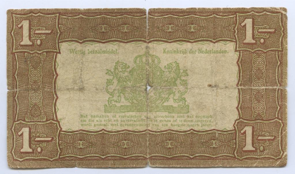 1 гульден 1938 года (Нидерланды)