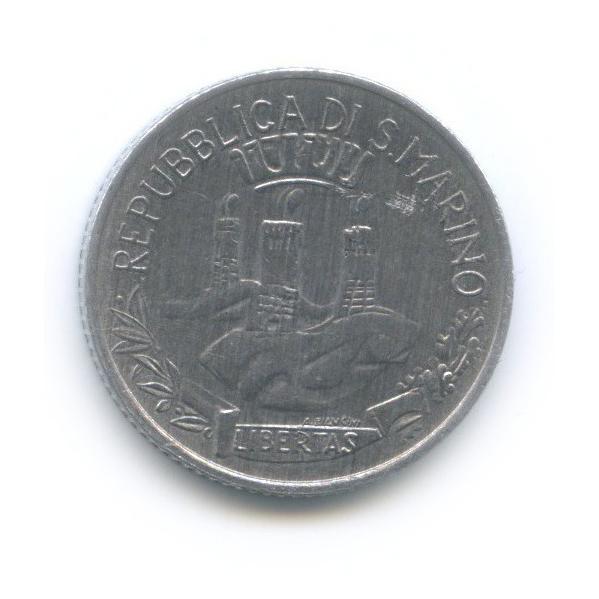 2 лиры - Социальные достижения 1982 года (Сан-Марино)