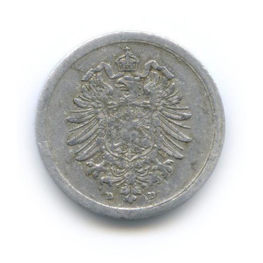 1 пфенниг 1917 года D (Германия)
