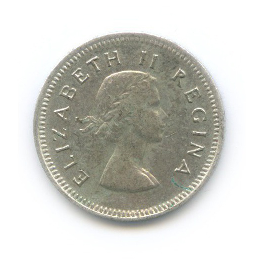 3 пенса 1957 года (ЮАР)