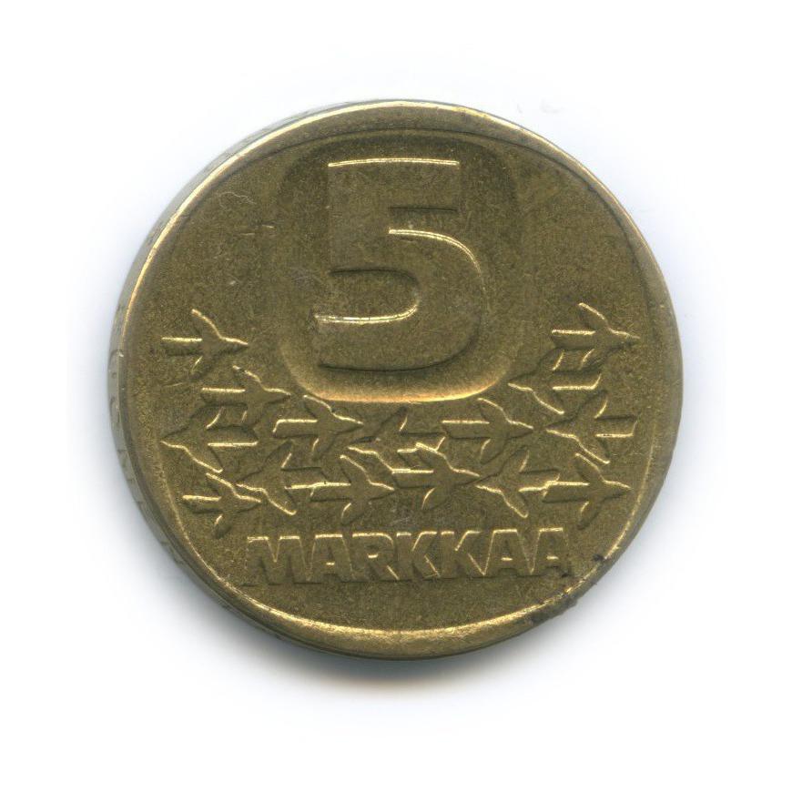 5 марок 1991 года (Финляндия)