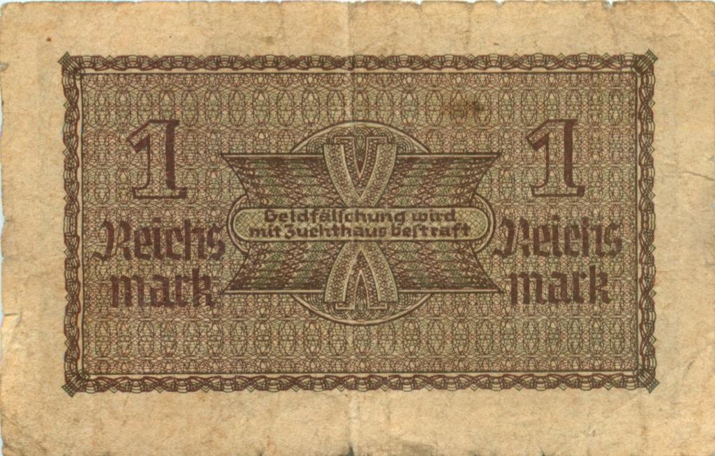 1 рейхсмарка 1937-1945 (Германия (Третий рейх))