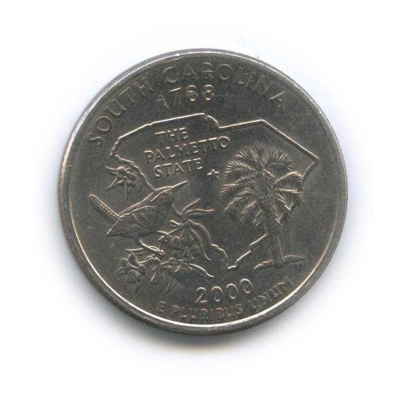 25 центов (квотер) — Квотер штата Южная Каролина 2000 года P (США)