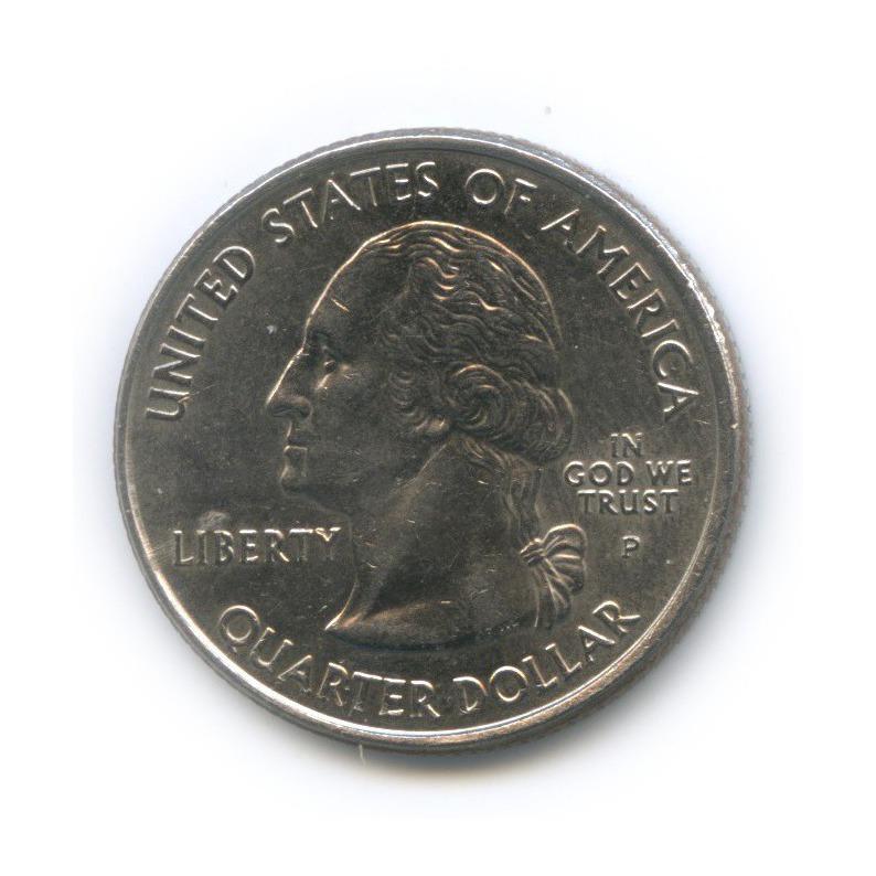 25 центов (квотер) — Квотер штата Кентукки 2001 года P (США)