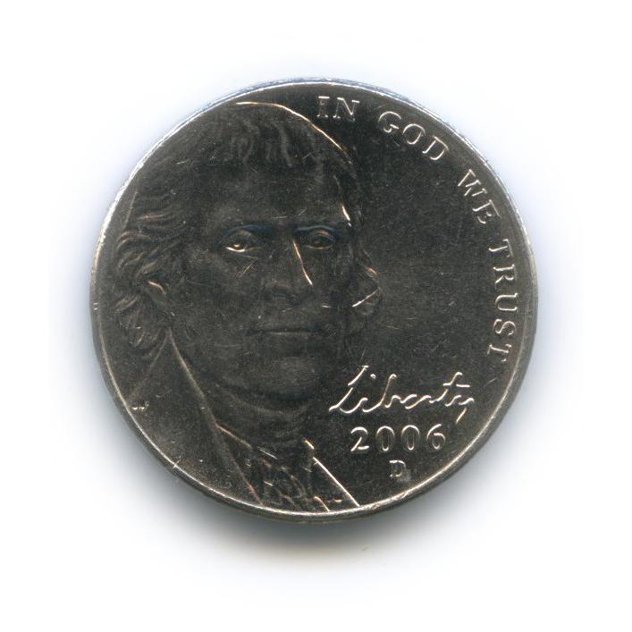 5 центов 2006 года D (США)