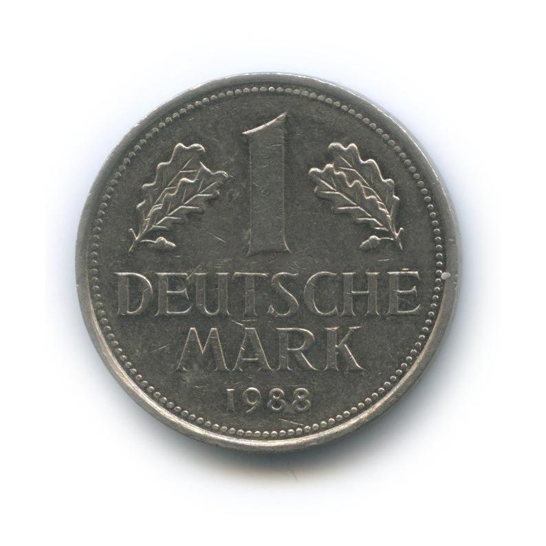 1 марка 1988 года G (Германия)