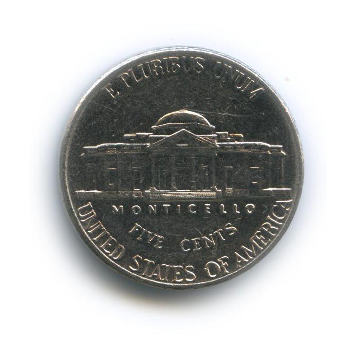 5 центов 2001 года D (США)