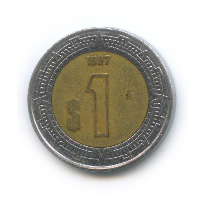 1 песо 1997 года (Мексика)