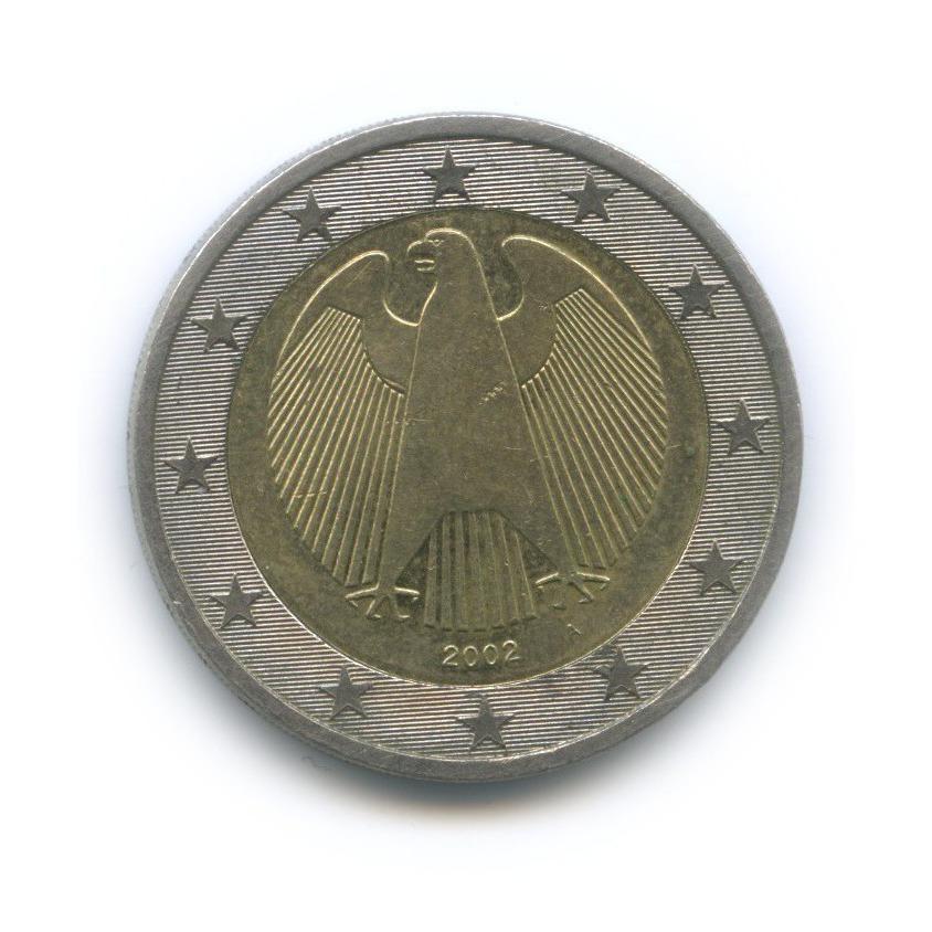 2 евро 2002 года A (Германия)