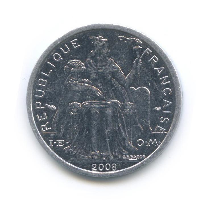 1 франк, Новая Каледония 2008 года