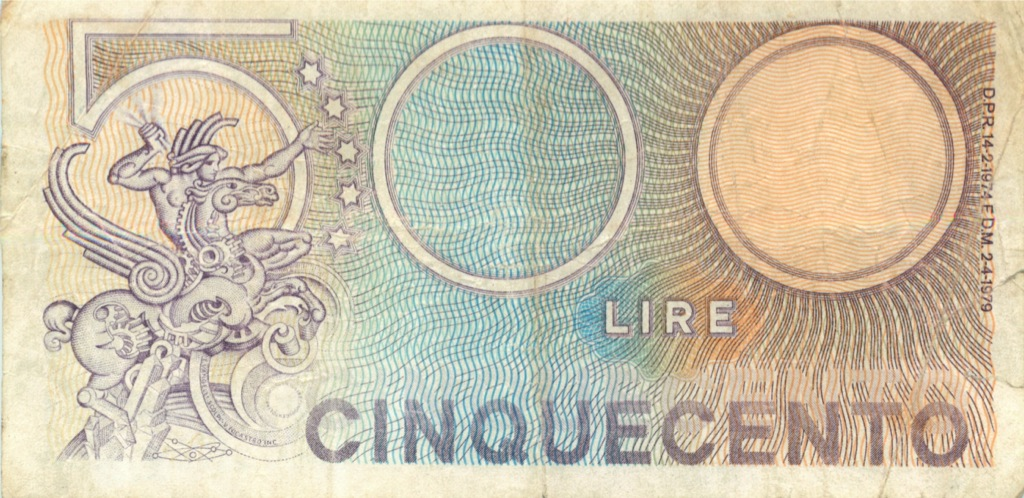 500 лир 1979 года (Италия)