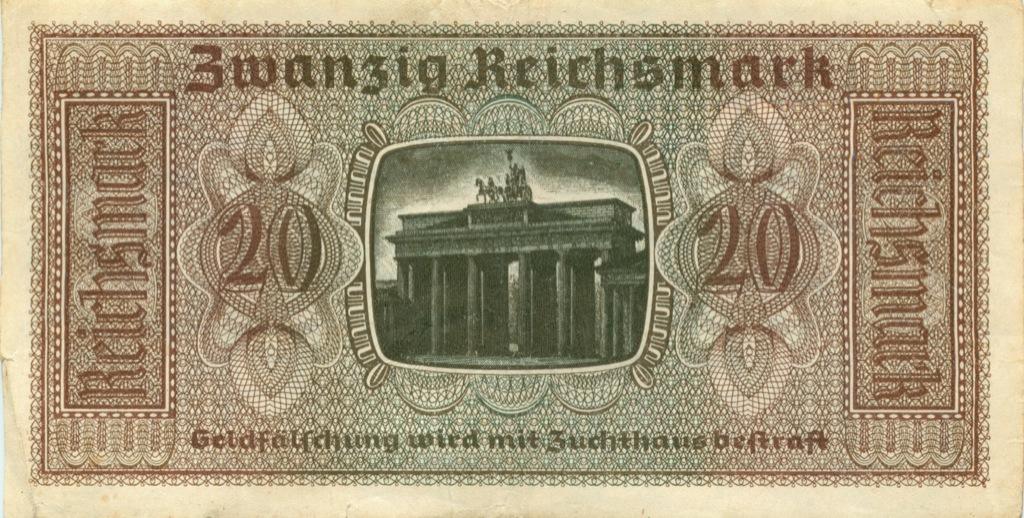 20 рейхсмарок (Германия (Третий рейх))