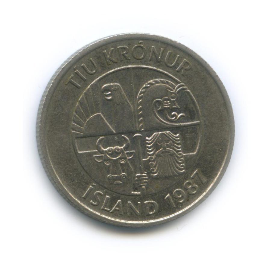 10 крон 1987 года (Исландия)