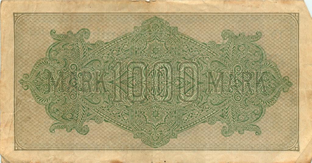 1000 марок 1922 года (Германия)