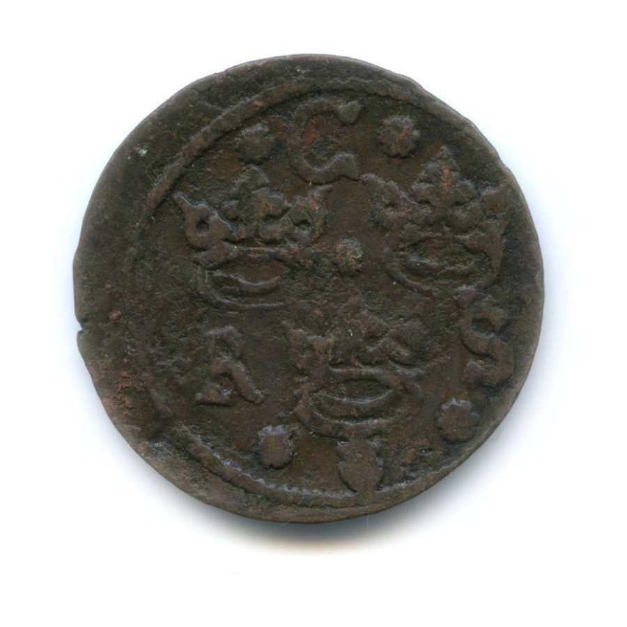 1/4 эре 1636 года (Швеция)
