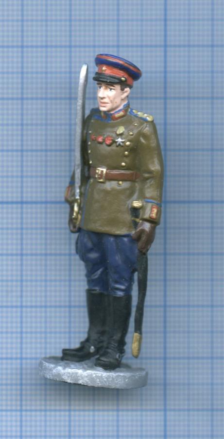 Фигурка «Офицер войск НКВД впарадной форме для строя, 1945 г.» (Россия)