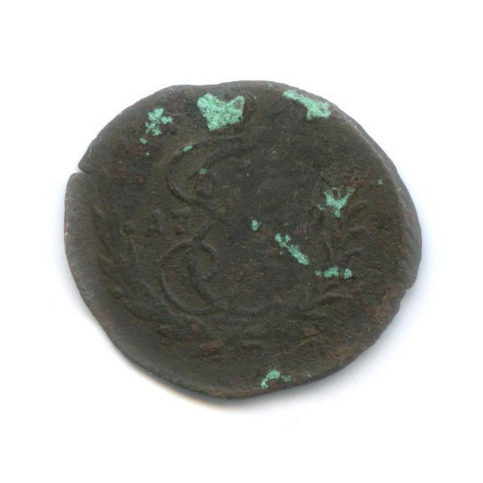 Денга (1/2 копейки), Екатерина II 17?9 (Российская Империя)