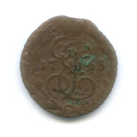 Полушка (1/4 копейки) 1768(?) ЕМ (Российская Империя)