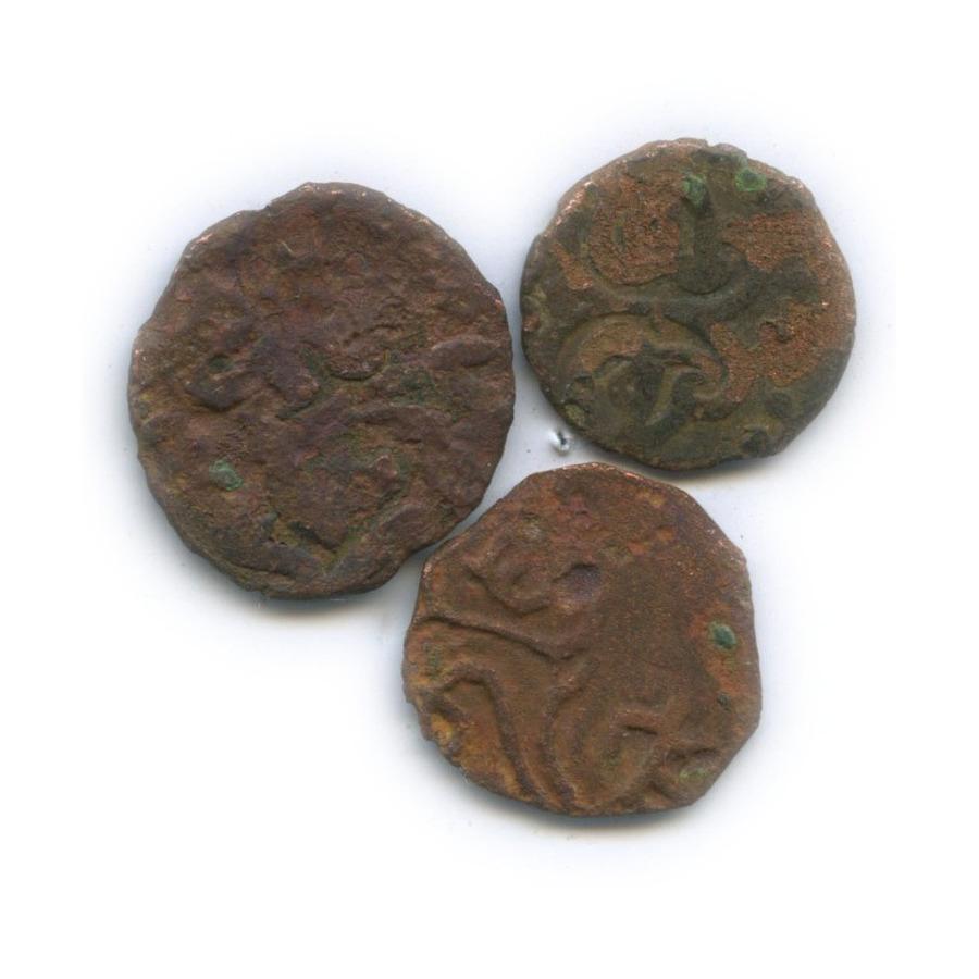 Набор монет (пулов) - Золотая Орда (1340-1350 гг.)