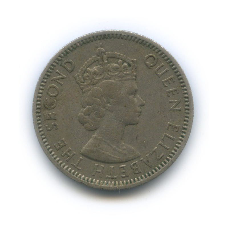 25 центов, Британские карибские территории 1955 года