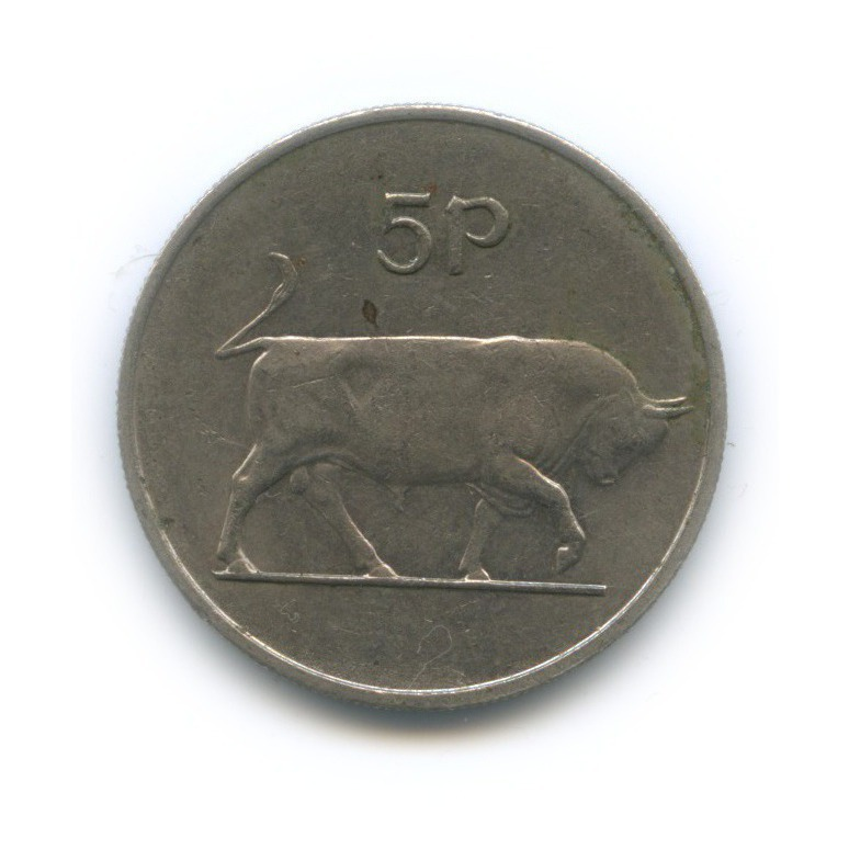 5 пенсов 1970 года (Ирландия)