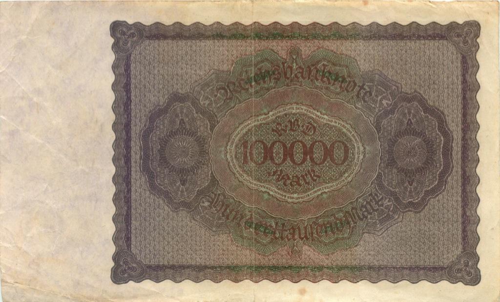 100000 марок 1923 года (Германия)