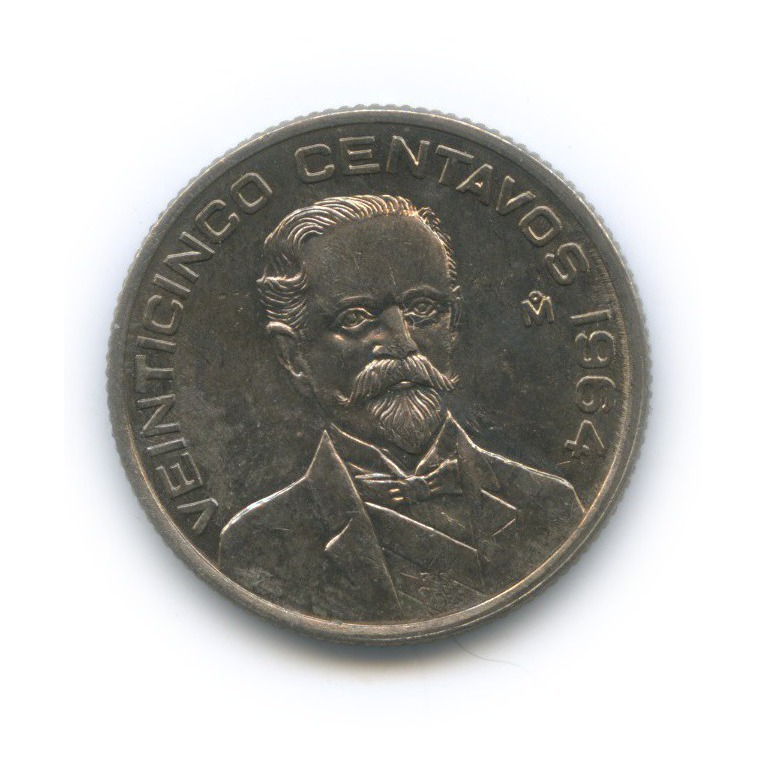 25 сентаво 1964 года (Мексика)