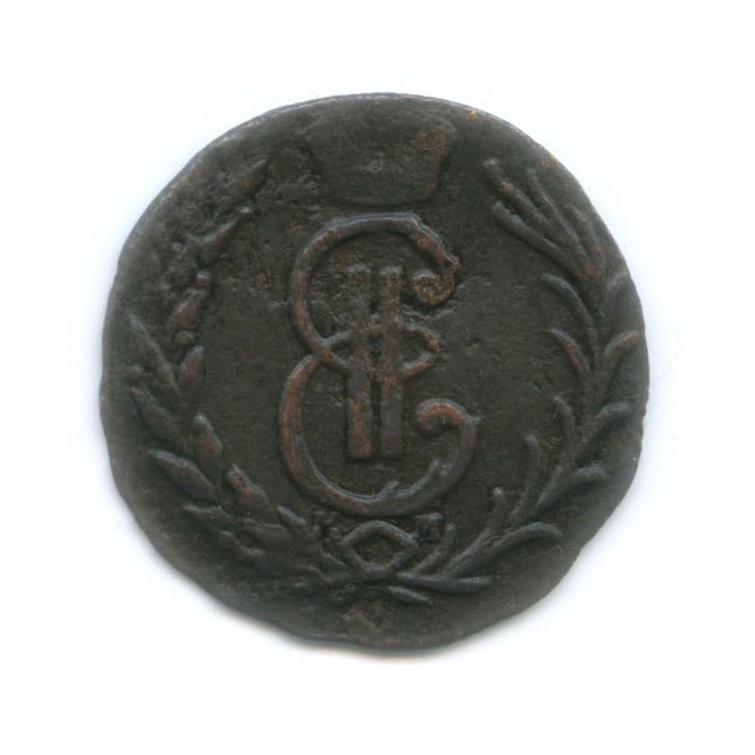 Денга (1/2 копейки) 1777 года КМ (Российская Империя)