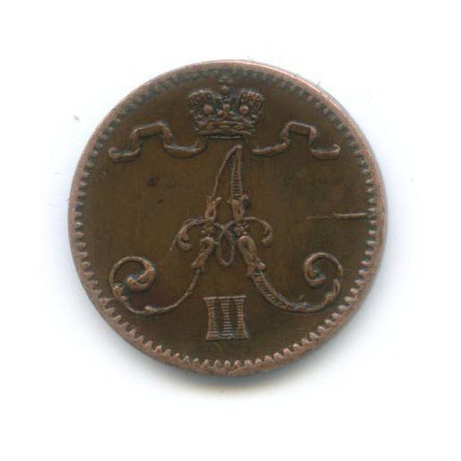 1 пенни 1888 года (Российская Империя)
