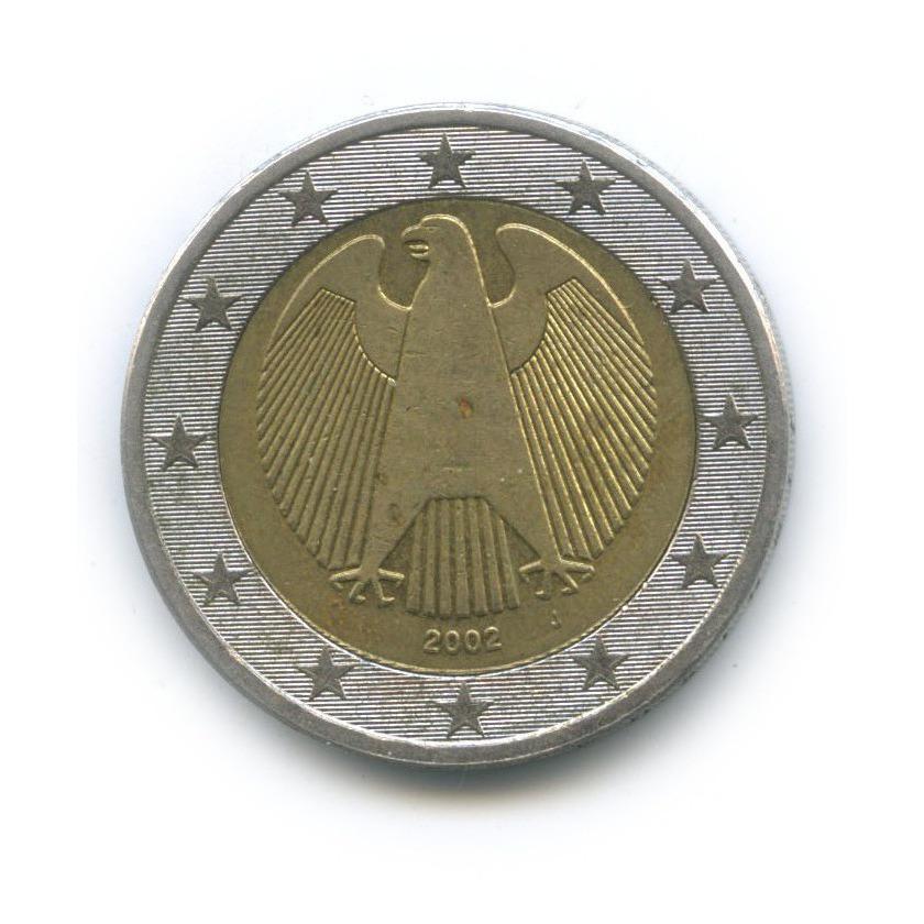 2 евро 2002 года J (Германия)