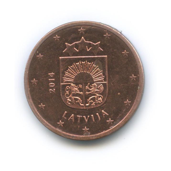 5 центов 2014 года (Латвия)