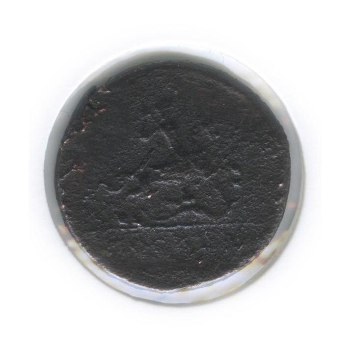 1 копейка «крестовая», Москва (вхолдере) 1728 года (Российская Империя)