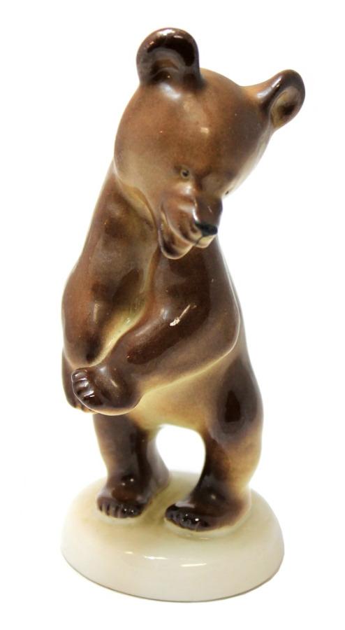 Статуэтка «Медведь» (ЛФЗ, 14,5 см) (СССР)