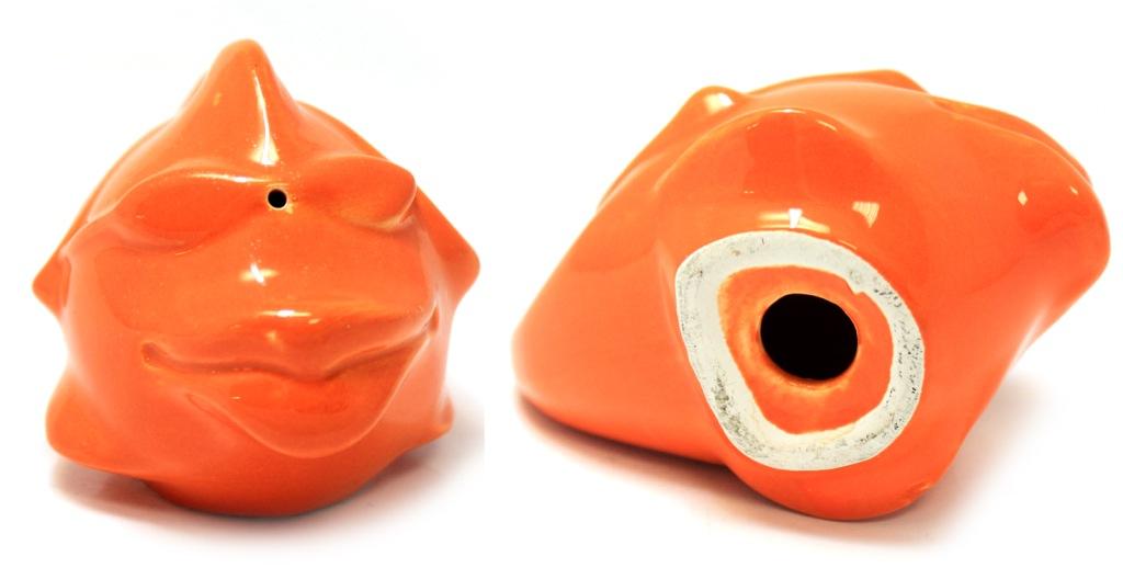 Фигурка-солонка «Рыбка» (керамика, 9,5×6,5 см)