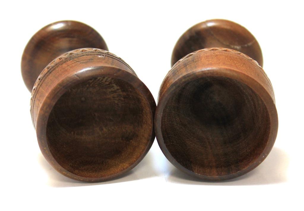 Набор пасхальных пашотниц для яиц (дерево, 7 см)