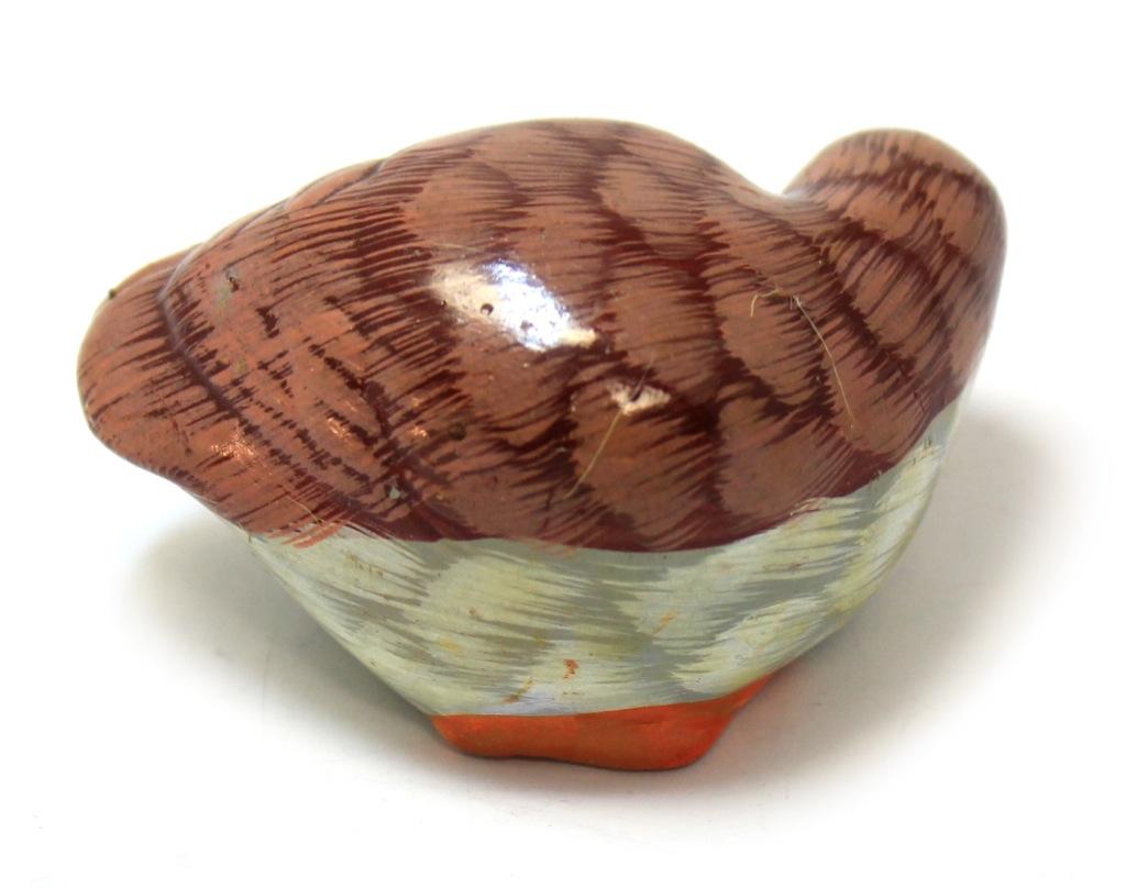 Фигурка «Куропатка» (керамика, 7 см)