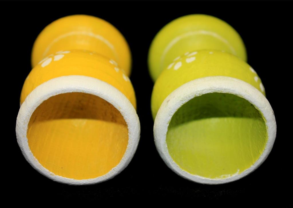 Набор пасхальных пашотниц для яиц (дерево, 8,5 см)