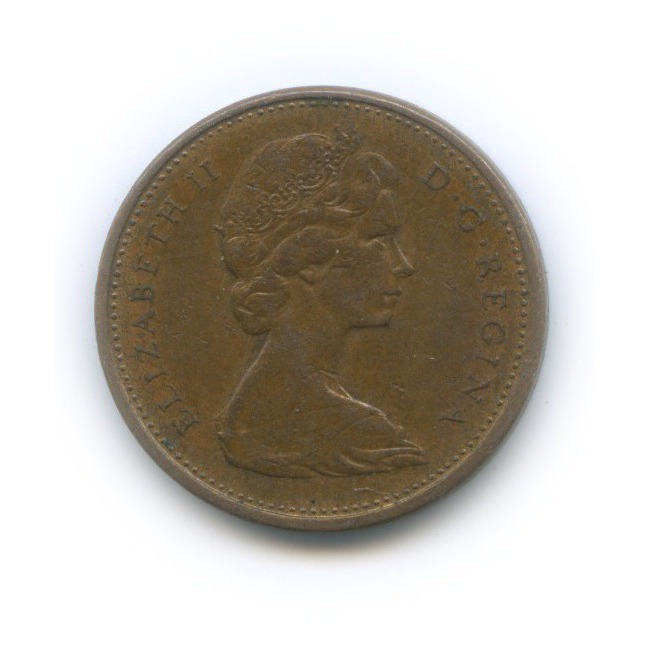 1 цент 1977 года (Канада)