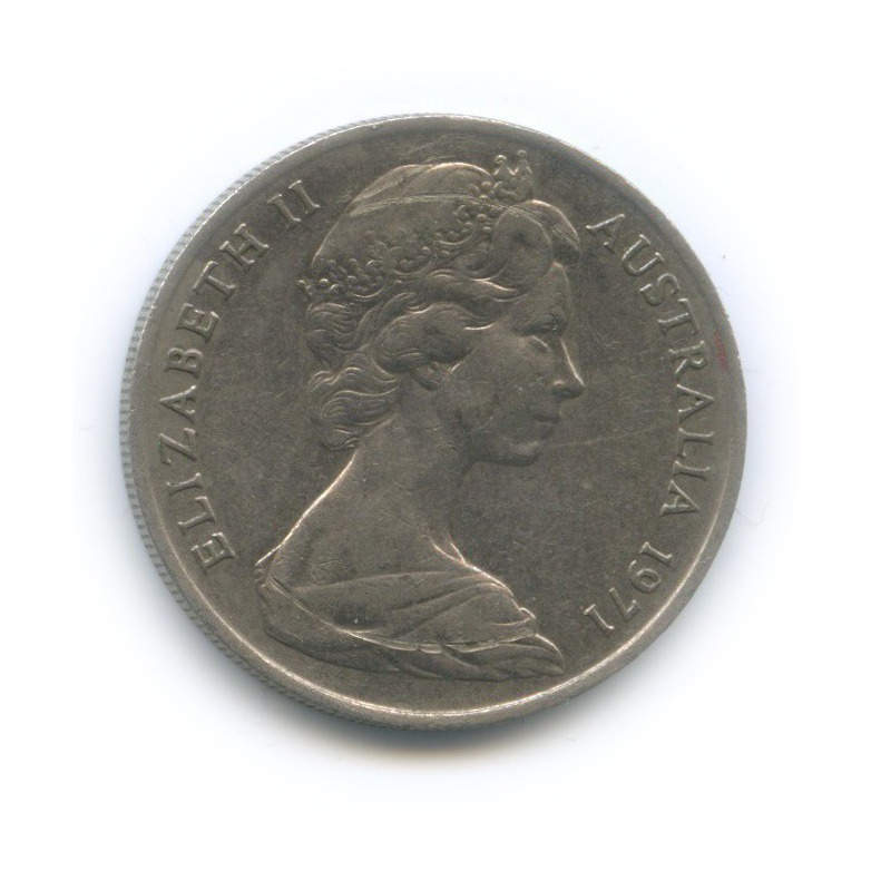 10 центов 1971 года (Австралия)