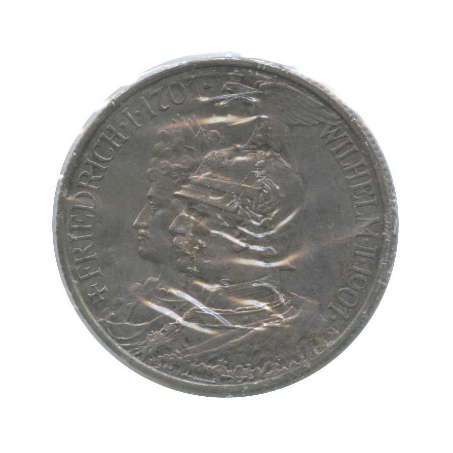 2 марки - 200 лет прусскому королевству, Пруссия (вхолдере) 1901 года