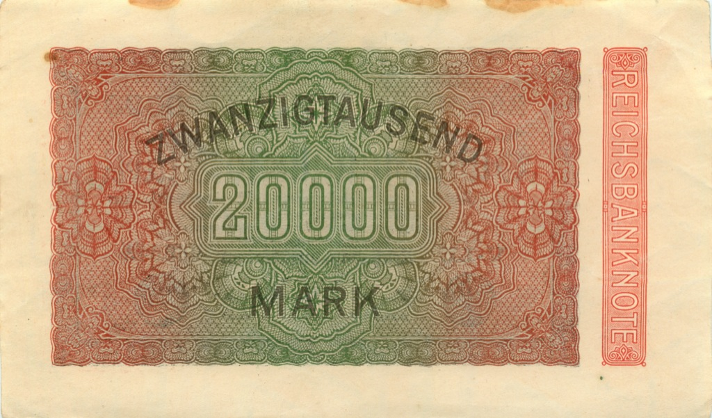 20000 марок 1923 года (Германия)