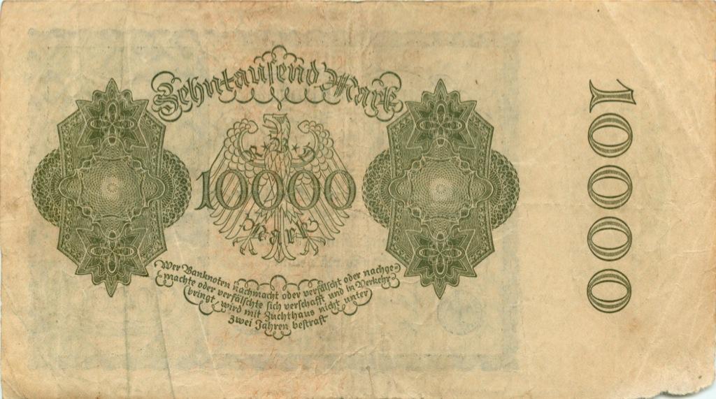 10000 марок 1922 года (Германия)