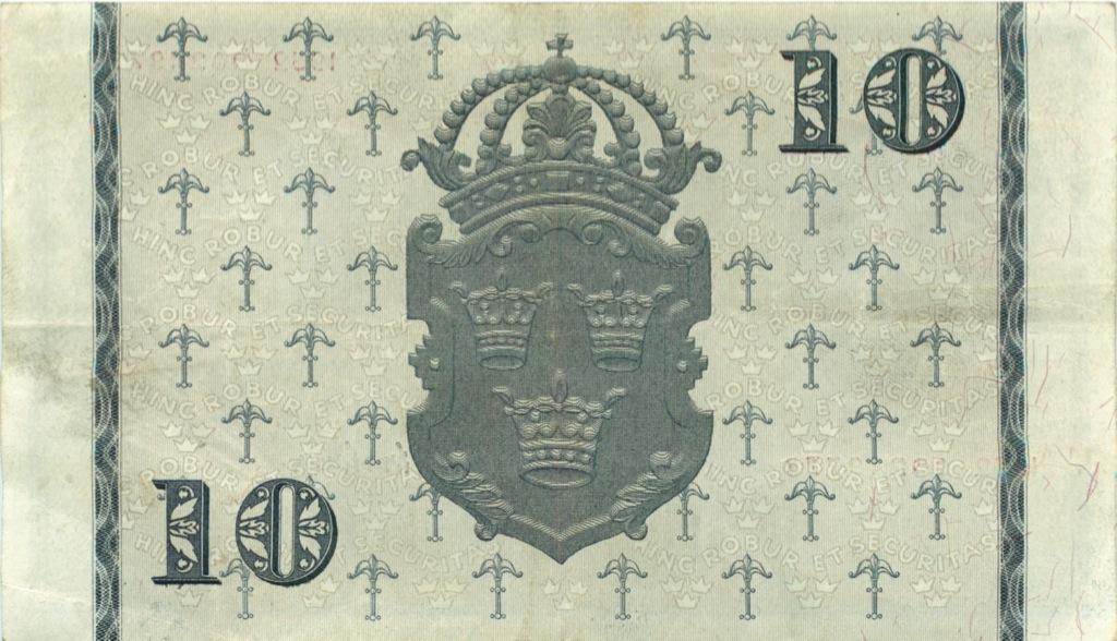 10 крон 1952 года (Швеция)