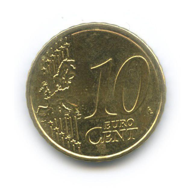 10 центов 2008 года (Мальта)