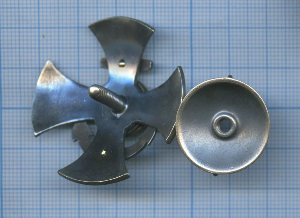 Знак «Кронштадтский пехотный полк» (горячая эмаль, копия)
