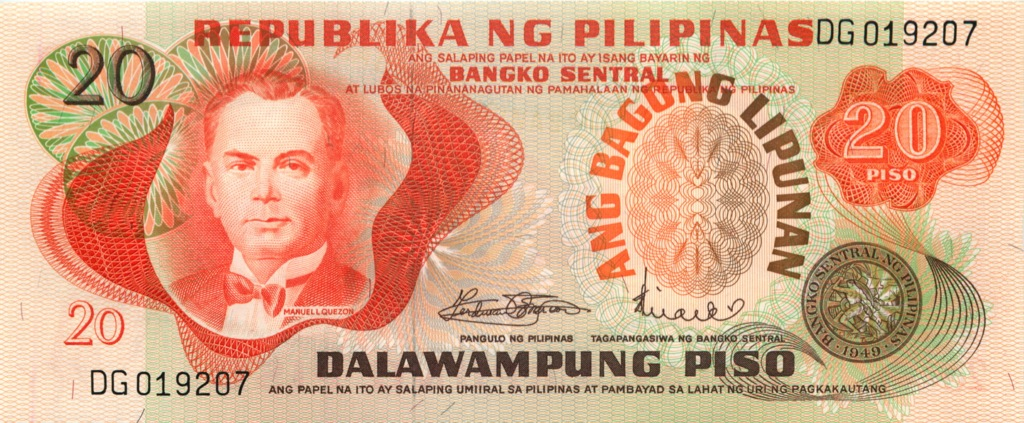 20 песо 1949 года (Филиппины)