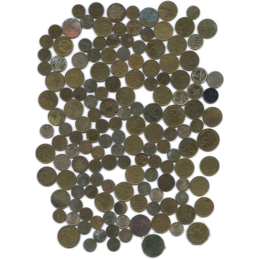 Набор монет (СССР, Россия, ≈148 шт.)