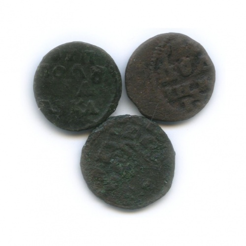 Набор монет полушка (1/4 копейки) (Российская Империя)