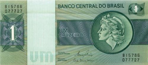 1 крузейро (Бразилия)